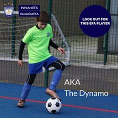 #LookOutEFA - Look out for this EFA Player: Known in the #EFAfamily for his endless energy and for being an inspirational Go-Getter, he has been appointed as one of the academy players who has progressed the most this season.  #WeAreEFA #TeamEFA #EFALondon #EFAhallOfFame ⚽️⚽️ #Football #FootballLondon #FootballTraining #YouthLondon #YouthFootball #YouthFootballLondon #SoccerTraining #Vauxhall ⚽️⚽️