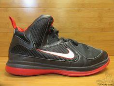 Nike Air Zoom Lebron IX 9 s sz 3y III Black White Sport Red What The MVP 2011 #Nike #Athletic #tcpkickz Youth Shoes, Air Zoom, Nike Air, Sneakers Nike, Athletic, Black And White, Best Deals, Boys, Sports