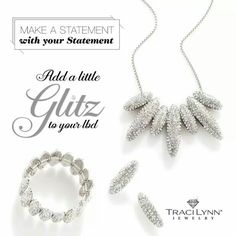 On the Rocks! Make a statement. Shop now www.tracilynnjewelry.net/20017!