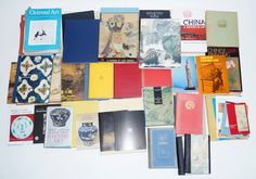 Een kavel boeken en tijdschriften m.b.t Chinese kunst en porselein.
