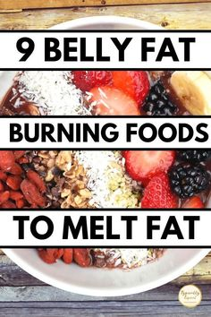 Stomach Fat Burning Foods, Best Fat Burning Foods, Fat Burning Detox Drinks, Loose Belly Fat, Burn Belly Fat Fast, Lose Belly, Good Foods To Eat, Weight Loss Smoothies, Diet And Nutrition