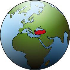 Karamelo Globe Turkey Clip Art
