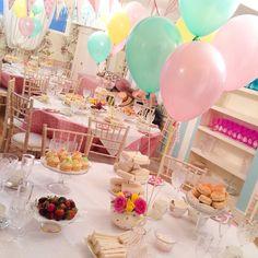 Tea Party Birthday Parties