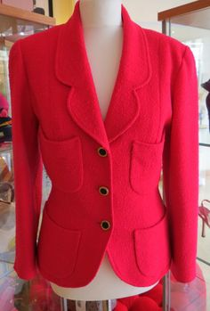 this beautiful pink #Chanel blazer new in! #fashion #designers size 12