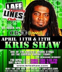 Kris Shaw Comedy Events, Names