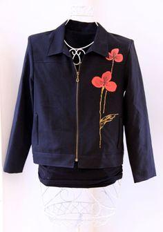 Handpainted jacket