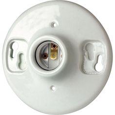 Leviton Keyless Porcelain Lampholder (09875-000) - Light Sockets & Lampholders - Ace Hardware