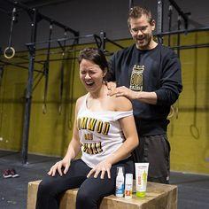 Anabel Ávila, todo un referente en el mundo del #crossfit, ¡confía en #Luxoben para su recuperación después del ejercicio! Ella ya ha probado nuestra crema de #masaje corporal deportivo y las #novedades Luxoben #BálsamoAntifricción y #SprayEfectoFrío :) ¿y tú?