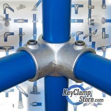 Key Clamp Fittings - Steel Pipe Scaffold Tube Railing - Kee Klamp Compatible