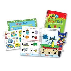Educational Insights Hot Dots Jr. Pete The Cat I Love Kindergarten! Set with Pete Pen
