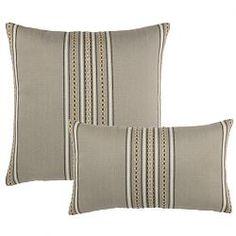 Elaine Smith Sedona Stripe Outdoor Pillows at HomeInfatuation.com.