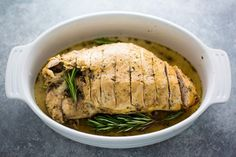 This tutorial will teach you how to make juicy turkey breast using a slow cooker. Use the meat for soup, sandwiches, or casseroles. Juicy Turkey Recipe, Turkey Breast In Crockpot Recipe, Turkey Recipes, Chicken Recipes, Turkey Crockpot, Slow Cook Turkey, Cooking Turkey, Slow Cooker Recipes, Cooking Recipes
