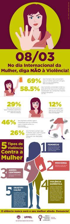 Dia da Mulher: UFPel faz Campanha pelo fim da violência | Coordenação de Comunicação Social