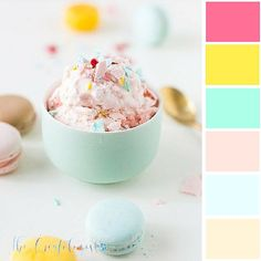 Color Inspiration for Interior Design & Branding Mood Board Candy Minimal   Color Inspiration - The Creatologist