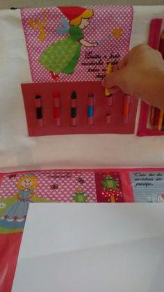 Maleta kit organizador de brincar para carro Lí Lara
