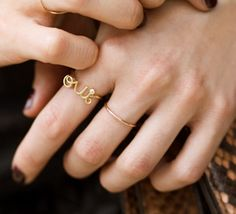 dior oui ring...I must have one