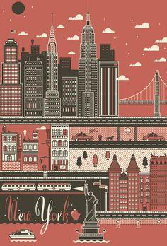NYC Poster (via I Love Dust)