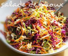 Mangez tunisien: Salade de choux à la tunisienne (سلاطة كرنب)