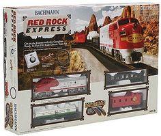 Bachmann HO Red Rock Express Train Set. On Sale now.