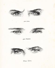Our Boys' Eyes <3 <--- I love how we don't even need the whole face or really have to have the names included for us to know exactly who's who.