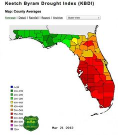 Almost 1,000 wildfires in Florida so far this year, spurred by climate-change-worsened drought!