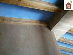 Masía en el Baix Ebre. Arquitectura Rollán revocos interiores morteros de arcilla- clayplaster ecoclay
