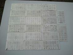 JQ-L plates 1-20