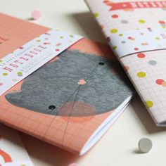 Notebooks for small people - Studio Seed