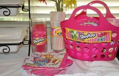 Maggie's Enchanted 's Birthday / Shopkins - Photo Gallery at Catch My Party 6th Birthday Parties, Birthday Bash, Girl Birthday, Birthday Ideas, Shopkins Bday, Party Fiesta, Easter Bunny Decorations, Easter Crafts For Kids, Party Time
