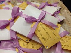 Tears of Joy tissue packets for Wedding by MademoiselleAdriana