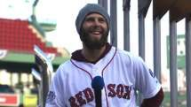 Video: Pedroia talks to fans about winning the World Series before the parade 11/2/13 | MLB.com