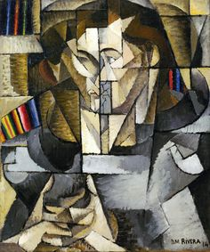 Diego Rivera, Young Man in a Gray Sweater (Jacques Lipchitz), 1914.