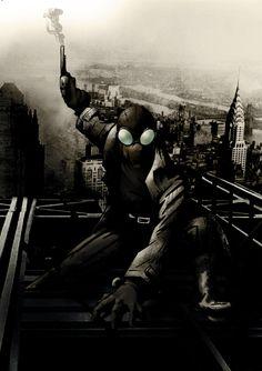 Home - Quora Spiderman Noir, Spiderman Art, Amazing Spiderman, Comic Book Heroes, Comic Books Art, Deadpool Funny, Marvel Comics Art, Spider Verse, Marvel Characters