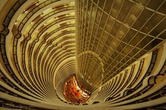 Hyatt Hotel 86 floor color version by Etienne Ruff