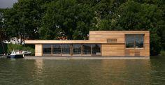 Thomas Durner - Works - woonboot - licht, vrij en onbevangen. Misschien…