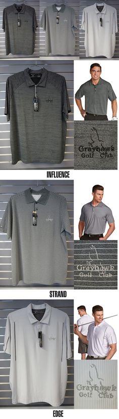 Shirts 50976: Lot Of 3 Antigua Men S Golf Apparel: Grayhawk Logo: Men S Size L -> BUY IT NOW ONLY: $45 on eBay!