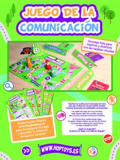 El juego de la comunicación es una forma divertida de trabajar la expresión oral y corporal de los niños mediante las tarjetas visuales Daily Five, Homeschool, Therapy, Language, Snack Recipes, Teaching, Education, Infants, Gabriel