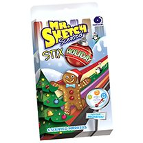 Mr. Sketch Scented Markers are perfect for artists of all ages and safe for children! The Holiday Stix are only available during the holiday season!