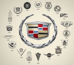 Cadillac - Founded: Founder: Henry M. Cadillac is one of the oldest automobile brands in the world. Cadillac Ats, Cadillac Escalade, Cadillac Fleetwood, Cadillac Eldorado, General Motors, Car Brands Logos, Car Logos, Luxury Car Brands, Luxury Cars