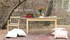 """Nothing says """"summer"""" more than relaxing and dining outdoors! Look out for your favorite spot!"""