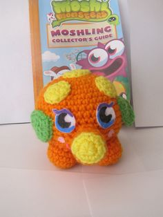 Say hello to Mr. Snoodle. He is Moshi Monster #56 - the Silly Snuffler. He's the sleepiest, snuffliest Moshling around and tends to make the other Moshlings fall asleep. So he's the perfect little guy to have around at bed time, in my book :o) etsy.com/tiffamis Moshi Monsters, Say Hello, Bedtime, How To Fall Asleep, My Books, Kitten, My Etsy Shop, Guy, Crochet Hats