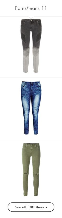 """Pants/jeans 11"" by musicmelody1 on Polyvore featuring jeans, pants, balmain, bottoms, charcoal, denim skinny jeans, stretch skinny jeans, skinny leg jeans, pierre balmain jeans and super stretch skinny jeans"
