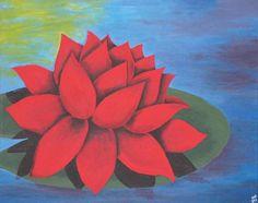 The Red Lotus - Art By Raelynn