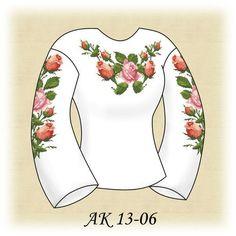 Заготовка к вышиванке женской Нежные розы АК 13-06 Д