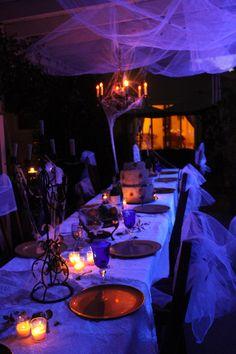 Great Expectations Haunted Hallowedding reception.  Halloween 2012