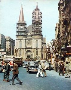 Se Square in the fifties ! Sao Paulo, Brazil
