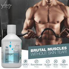 Brutal muscles  www.yobogu.com Natural Flavors, Healthy Skin, Muscles, Muscle, Healthy Skin Tips