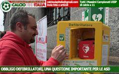 UISP NAZIONALE | Obbligo Defibrillatori: anche i giornali ne parlano