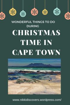 Ideas on what to do in Cape Town during the festive season Travel Around Europe, Political Science, Wonderful Things, Cape Town, Budget Travel, Christmas Time, Festive, Things To Do, Posts