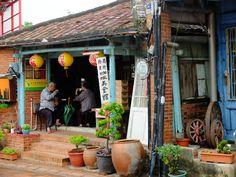 coffee shop in Yanshui, Tainan, Taiwan